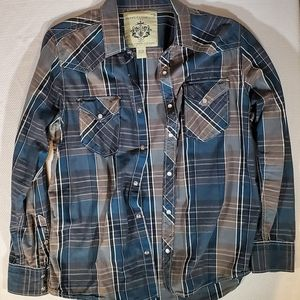 Supply Company Flannel Size L 🔥